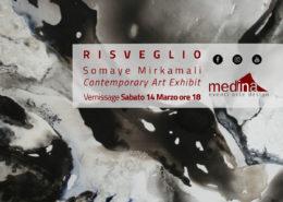 Somaye Mirkamali - Risveglio - Medina Roma Arte