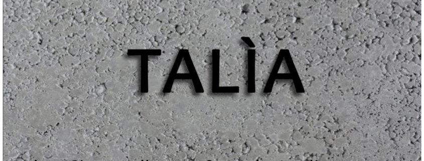 GIANLUIGI PITROLO - TALìA - Studio Barnum contemporary - Noto