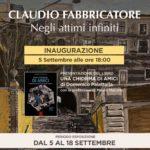 Claudio Fabbricatore galleria esse erre roma